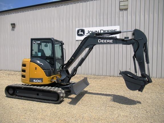 2014 Deere 50G Backhoe