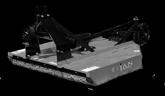 Titan Attachments 1135 Rotary Cutter