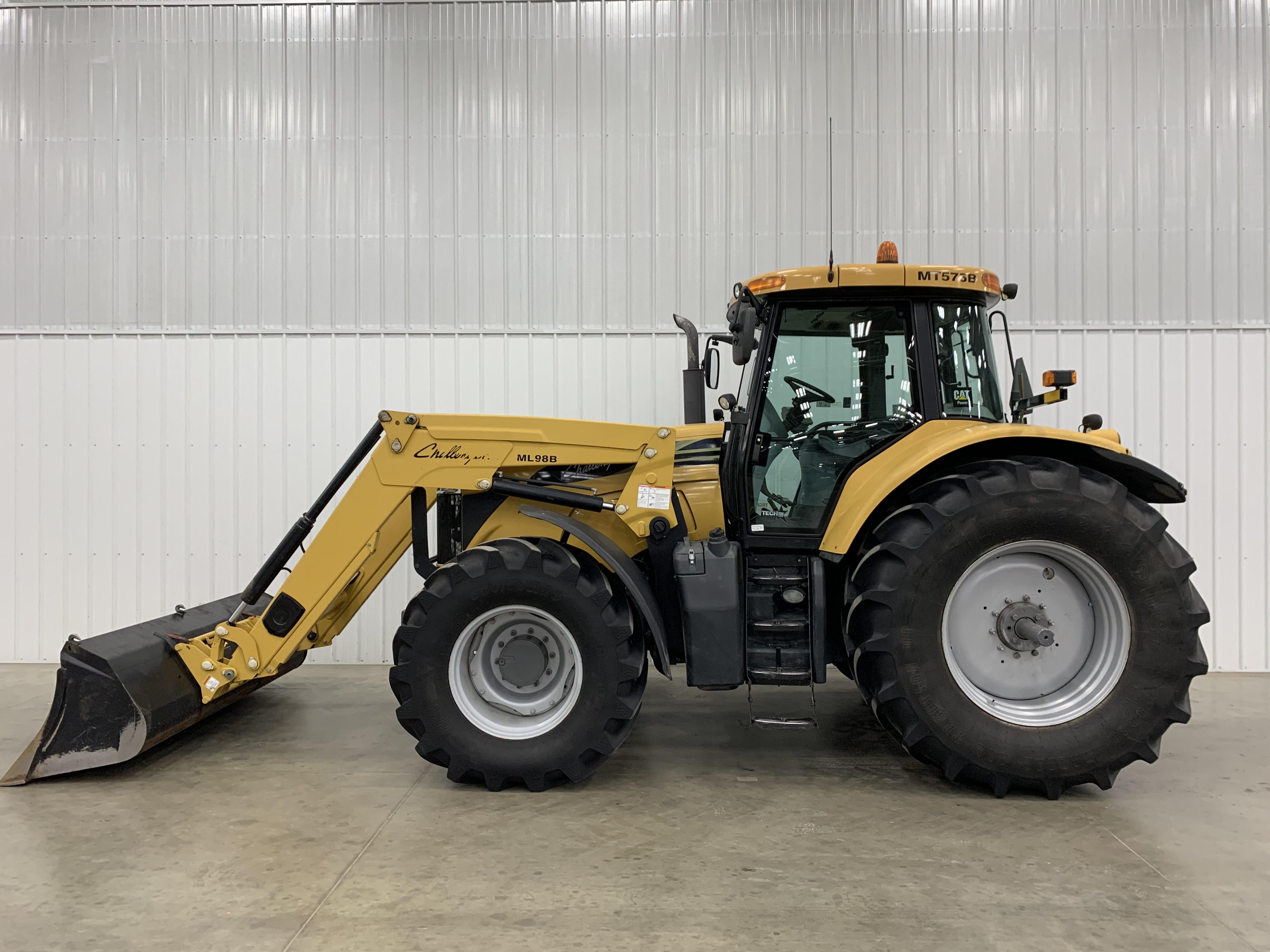 2009 Challenger MT575B Tractor