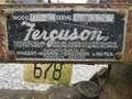 Massey Ferguson FEO20 Sickle Mower