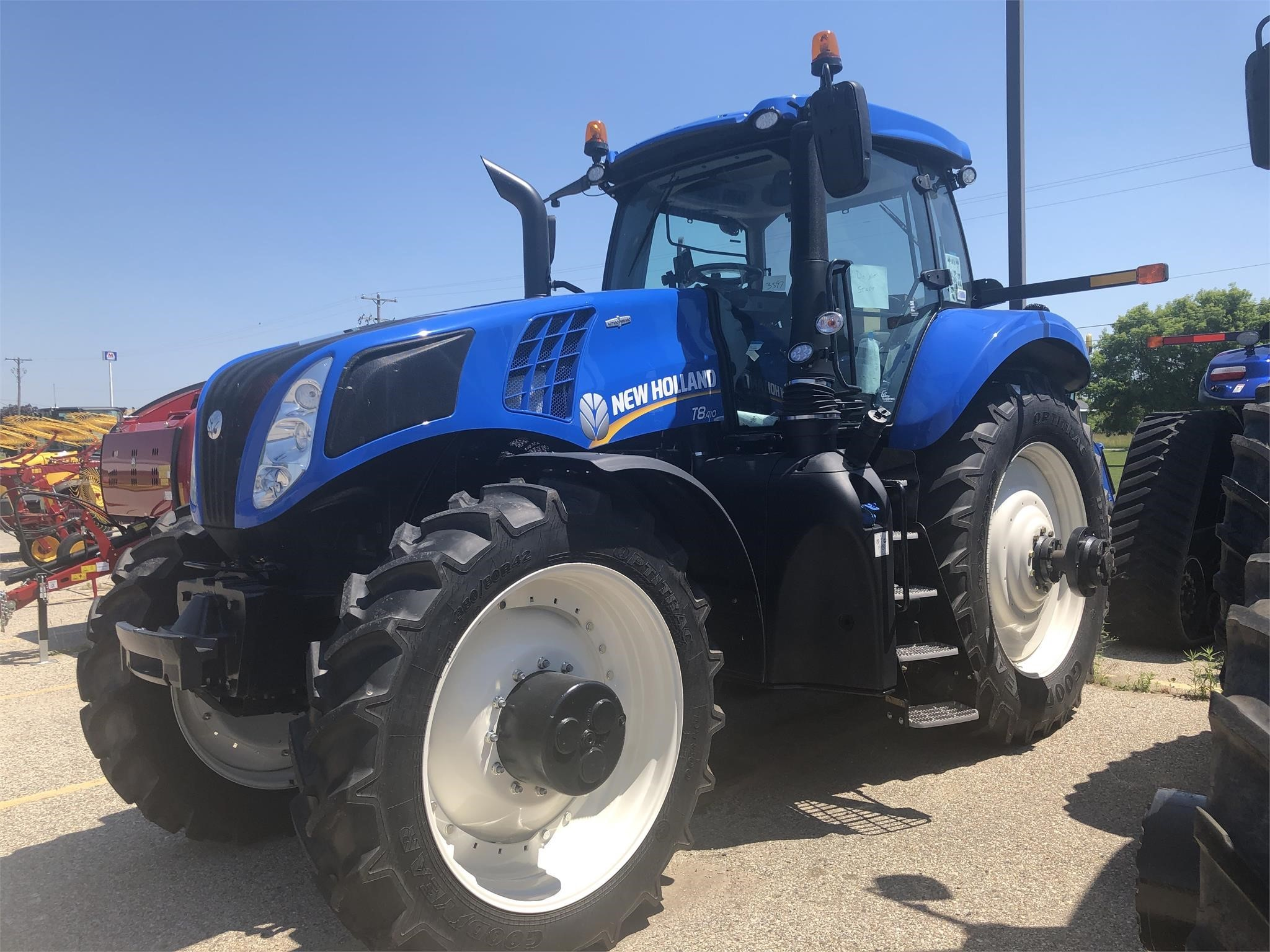 2018 New Holland T8.410 Tractor
