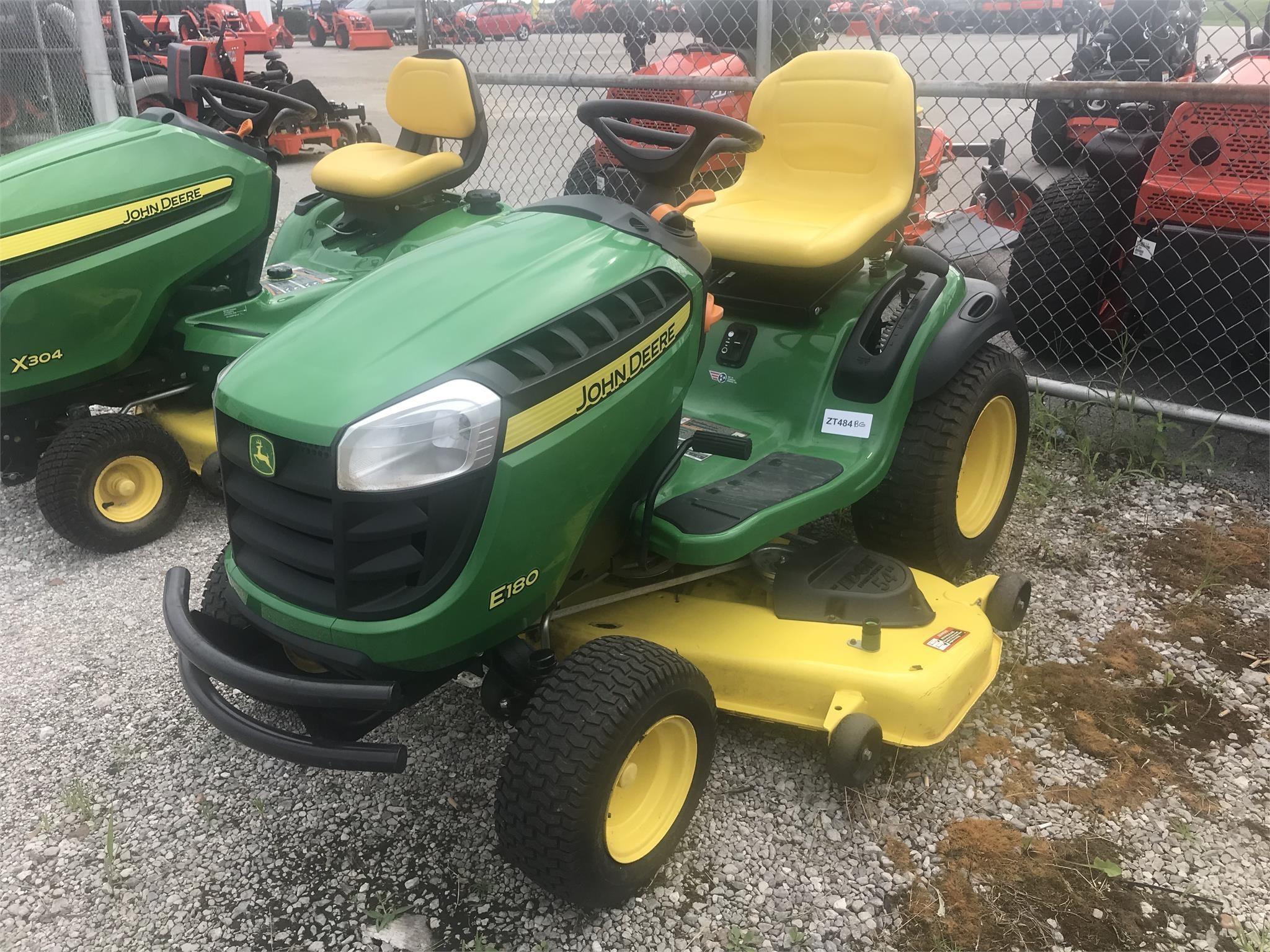 2018 John Deere E180 Lawn and Garden