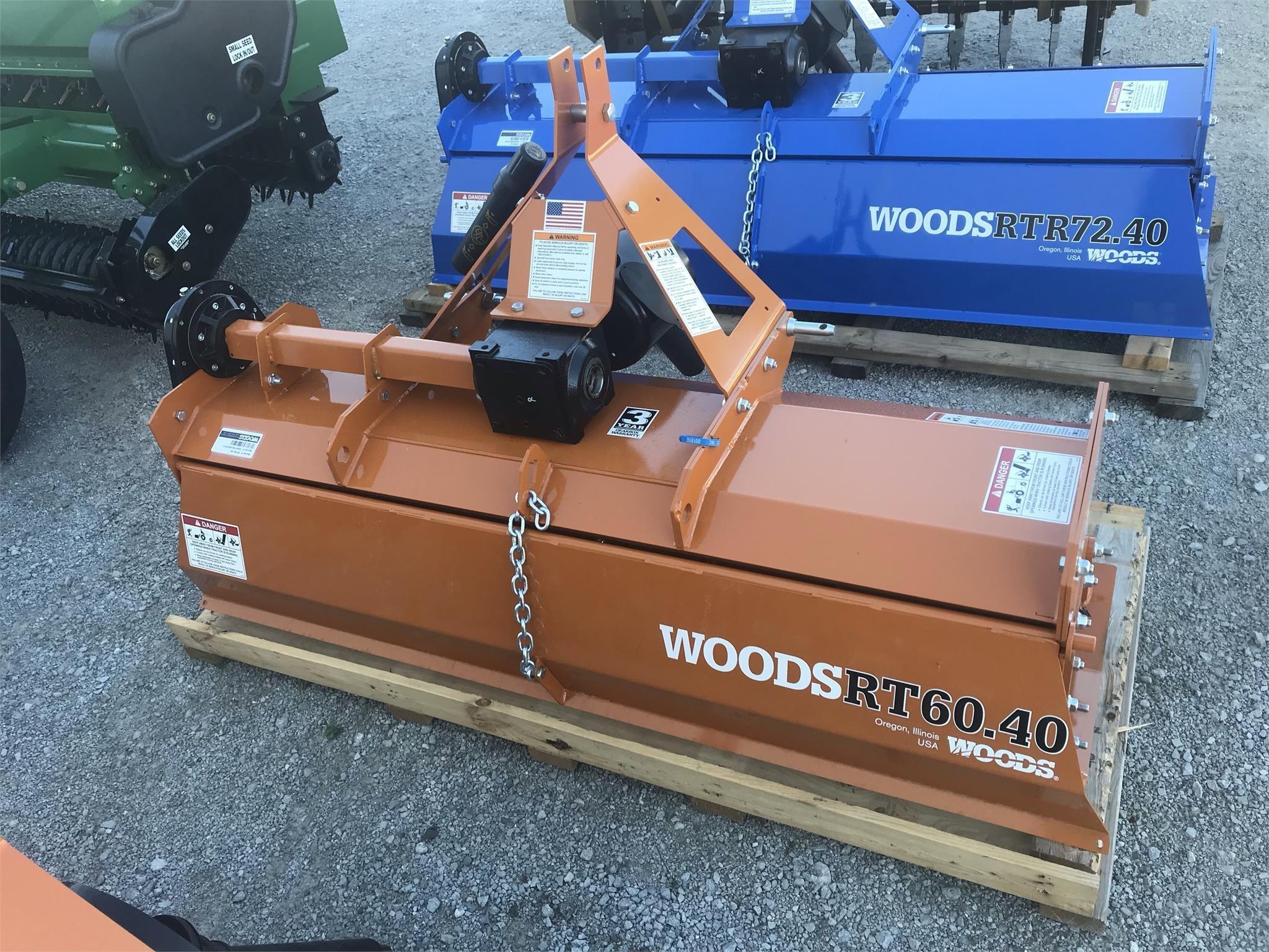 2020 Woods RT60.40 Mulchers / Cultipacker