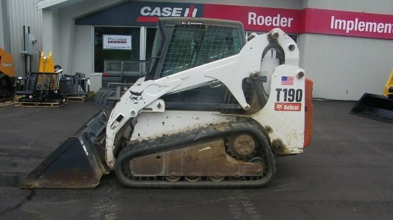 2008 Bobcat T190 Skid Steer