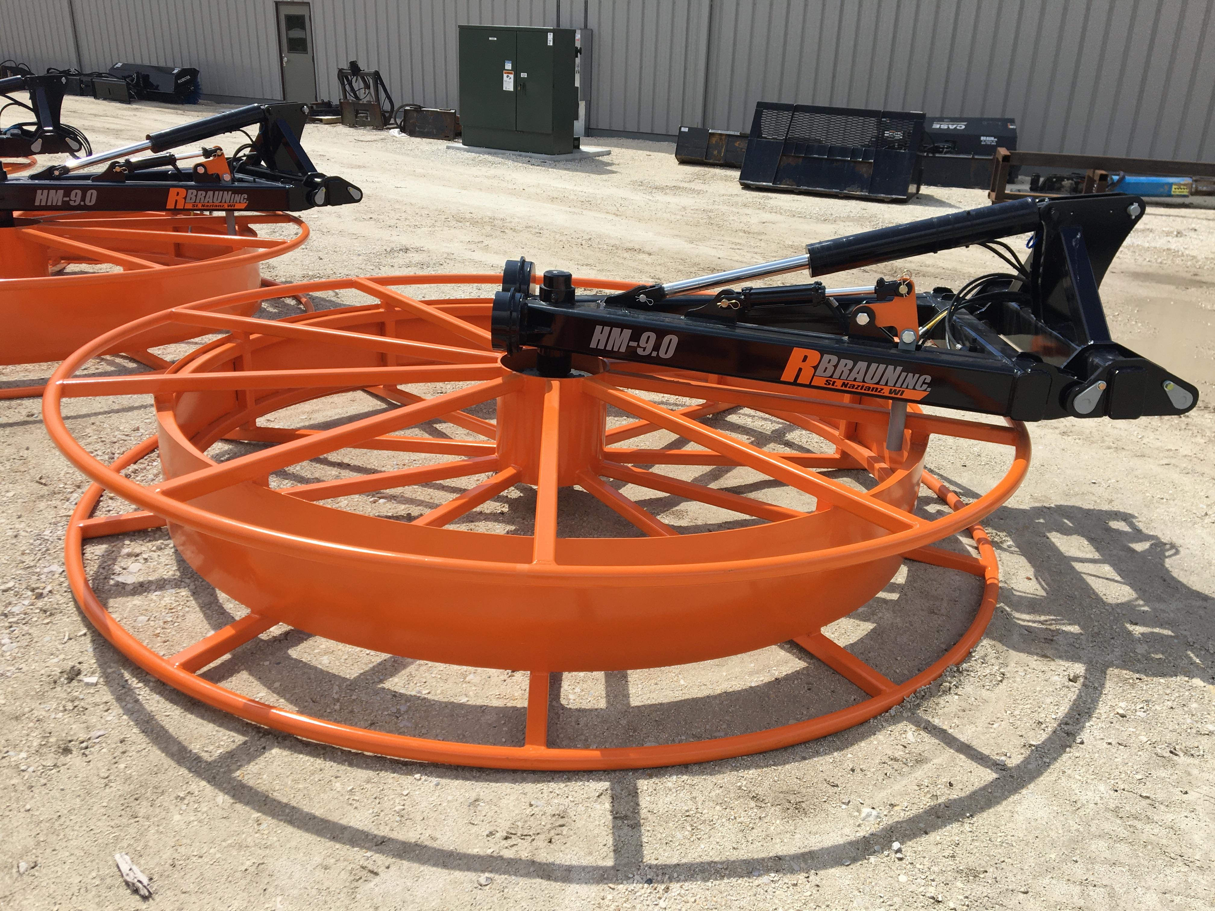 2019 R Braun Inc. HM 9.0 Hose Mover Manure Pump