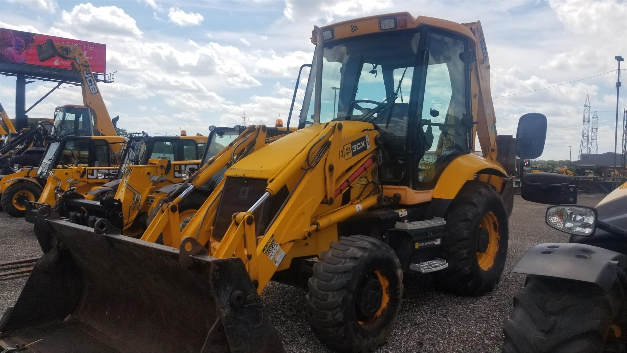 2009 JCB 3CX14 Backhoe