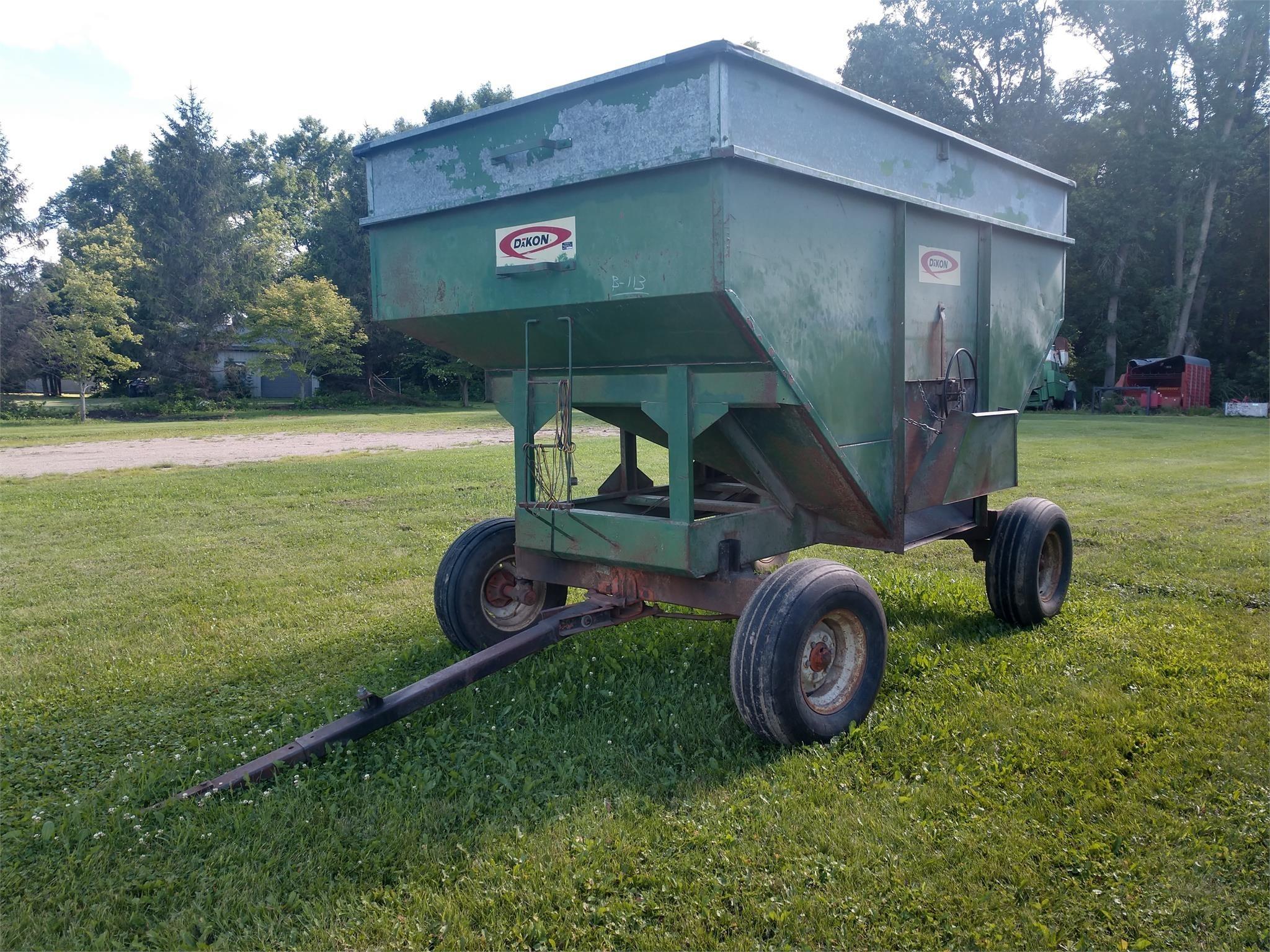 1980 Dakon 250 Gravity Wagon