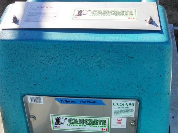2014 Cancrete CGSA50 Cattle Equipment