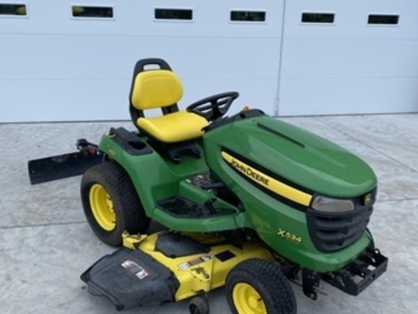 [DIAGRAM_4FR]  John Deere X534 Lawn and Garden for Sale | Machinery Pete | John Deere X534 Engine Schematics |  | Machinery Pete