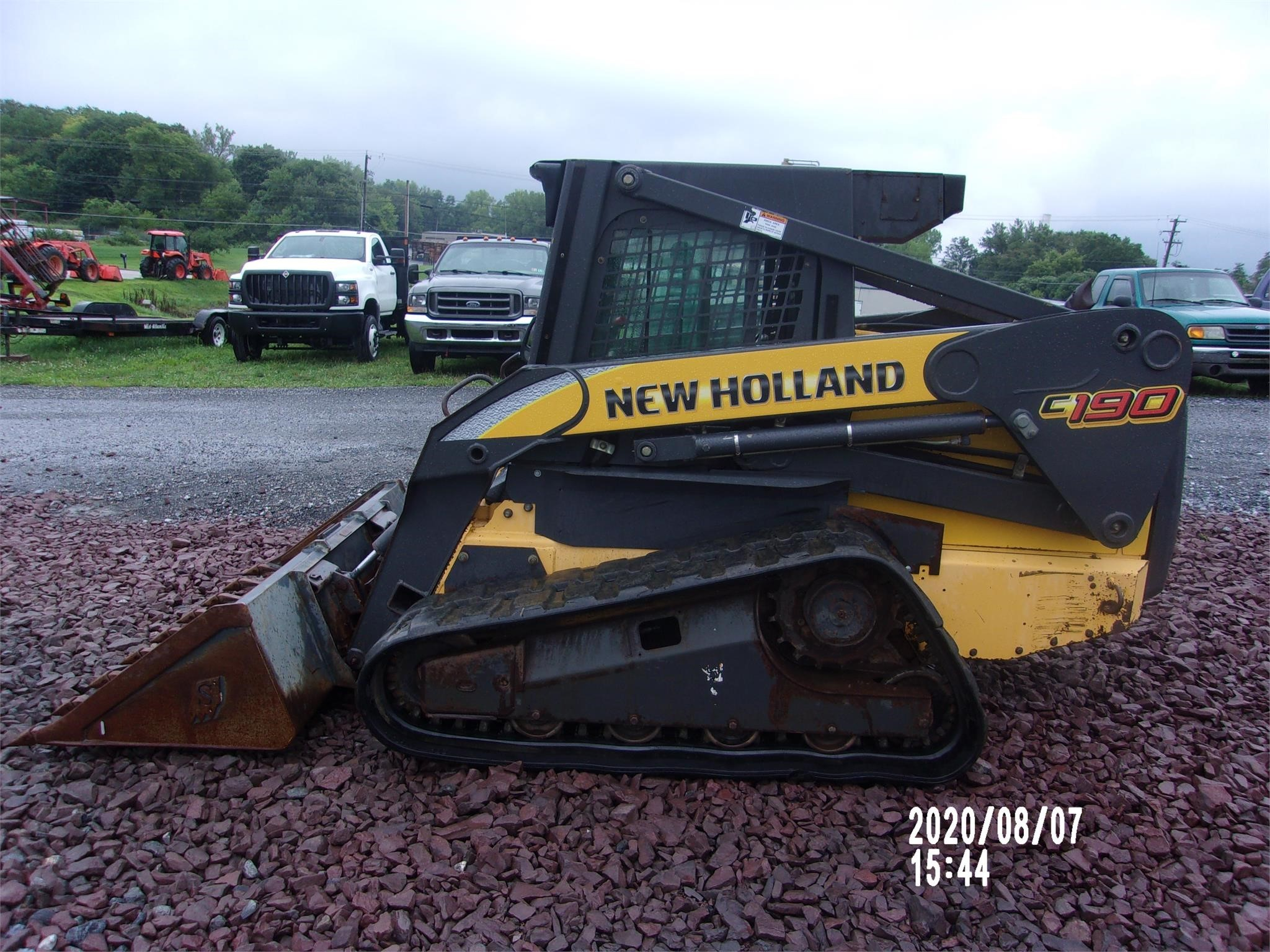 New Holland C190 Skid Steer