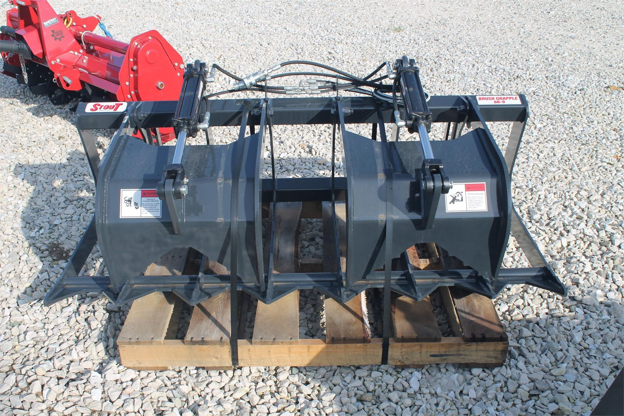 2021 Stout 66-9 Loader and Skid Steer Attachment