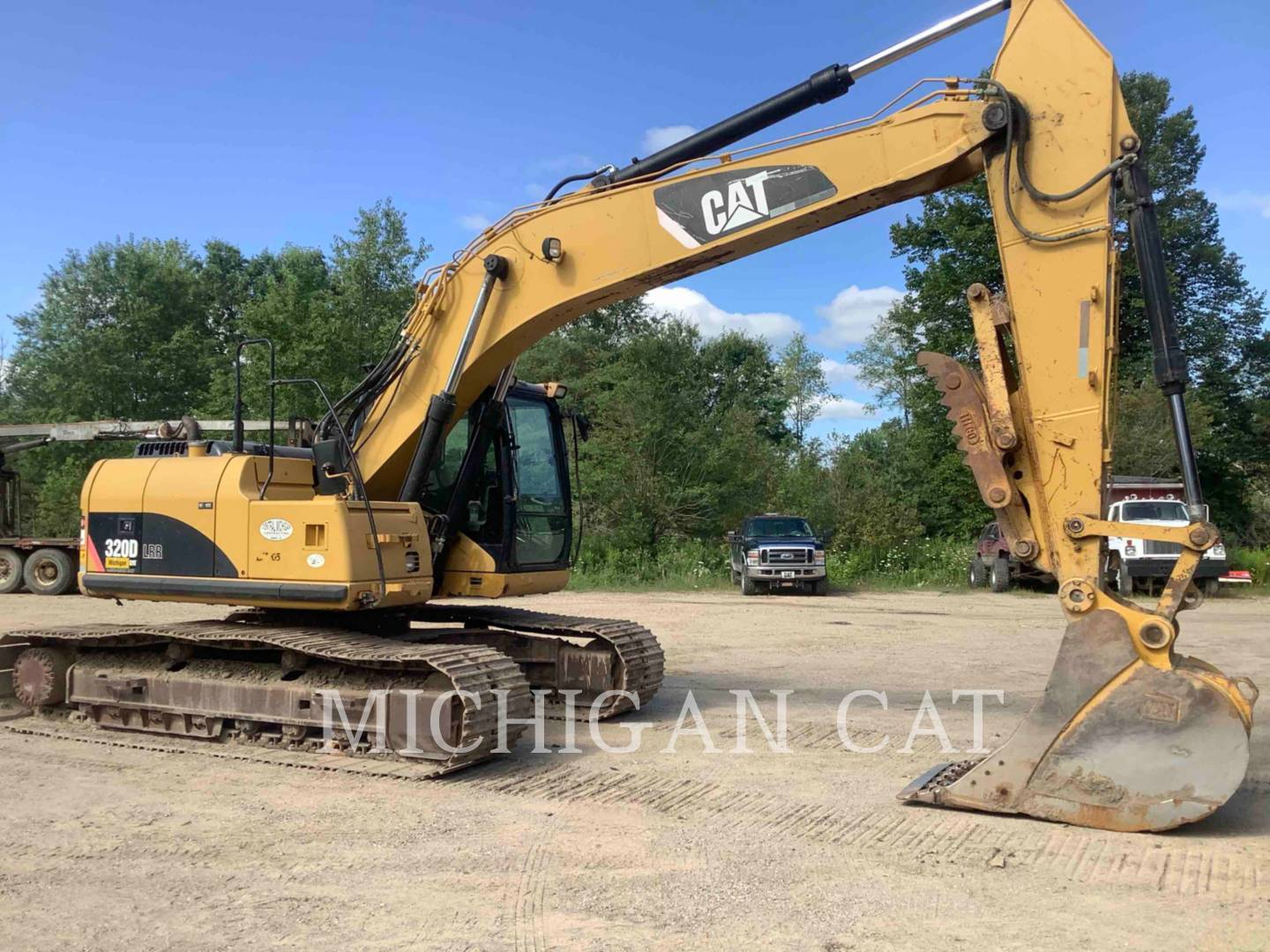 2008 Caterpillar 320DLRR Excavators and Mini Excavator