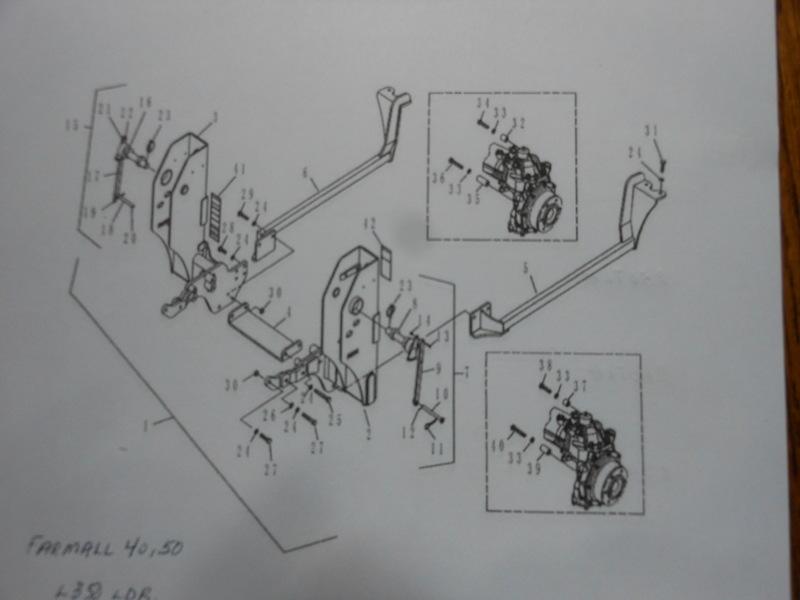 240TL Loader Mounting Brackets