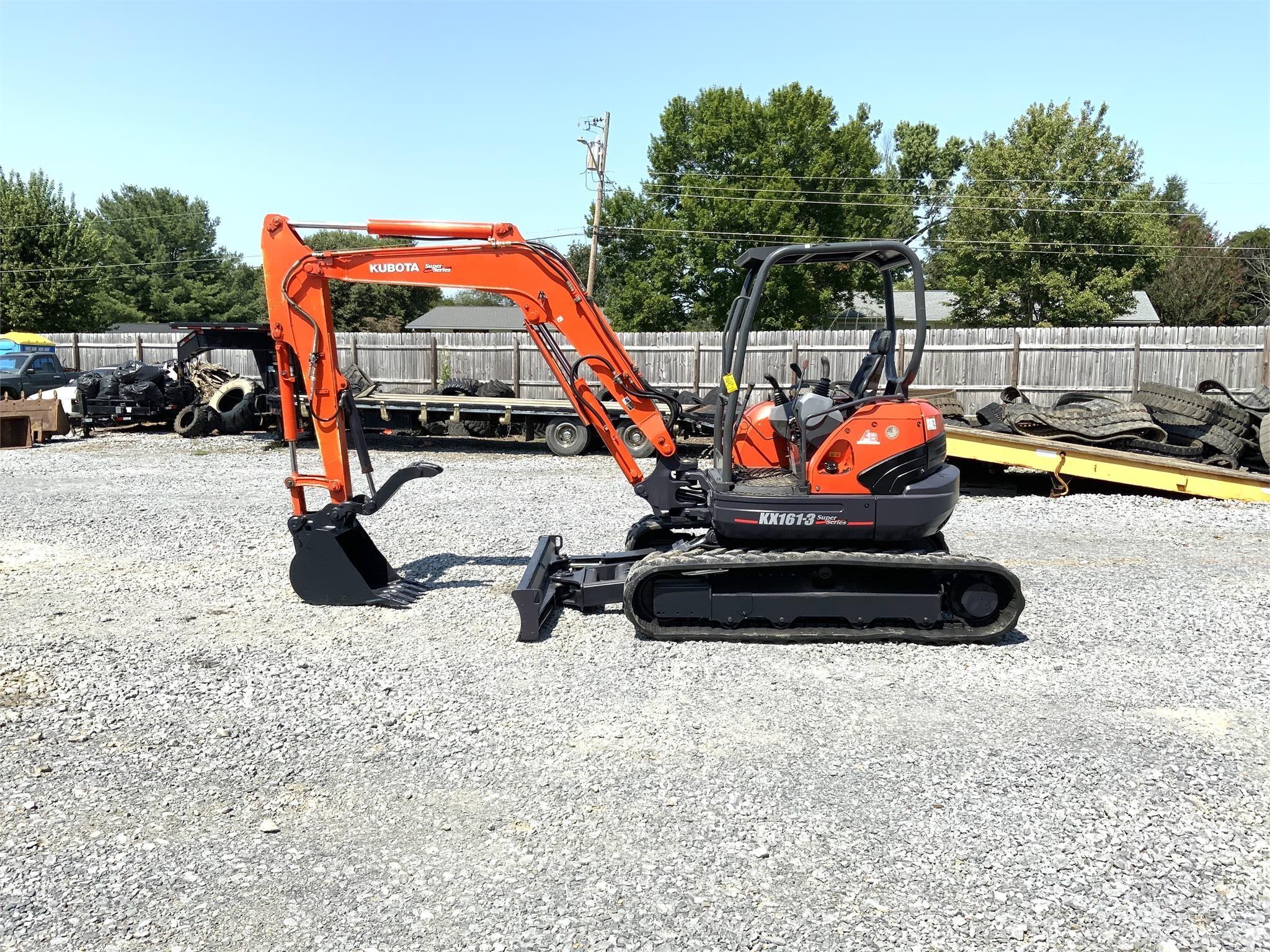 2010 Kubota KX161-3 Excavators and Mini Excavator