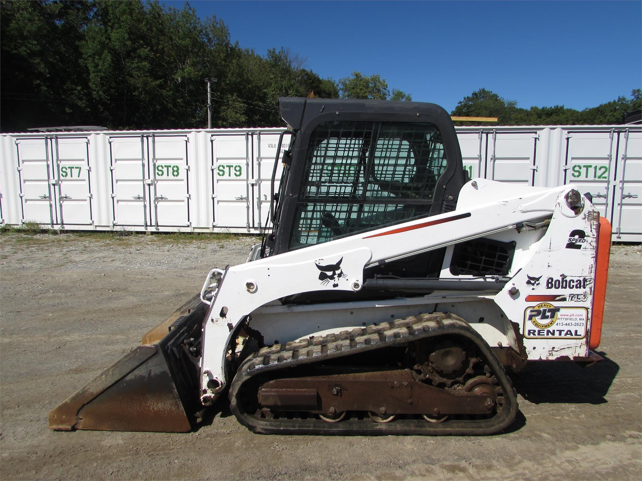 2015 Bobcat T450 Skid Steer