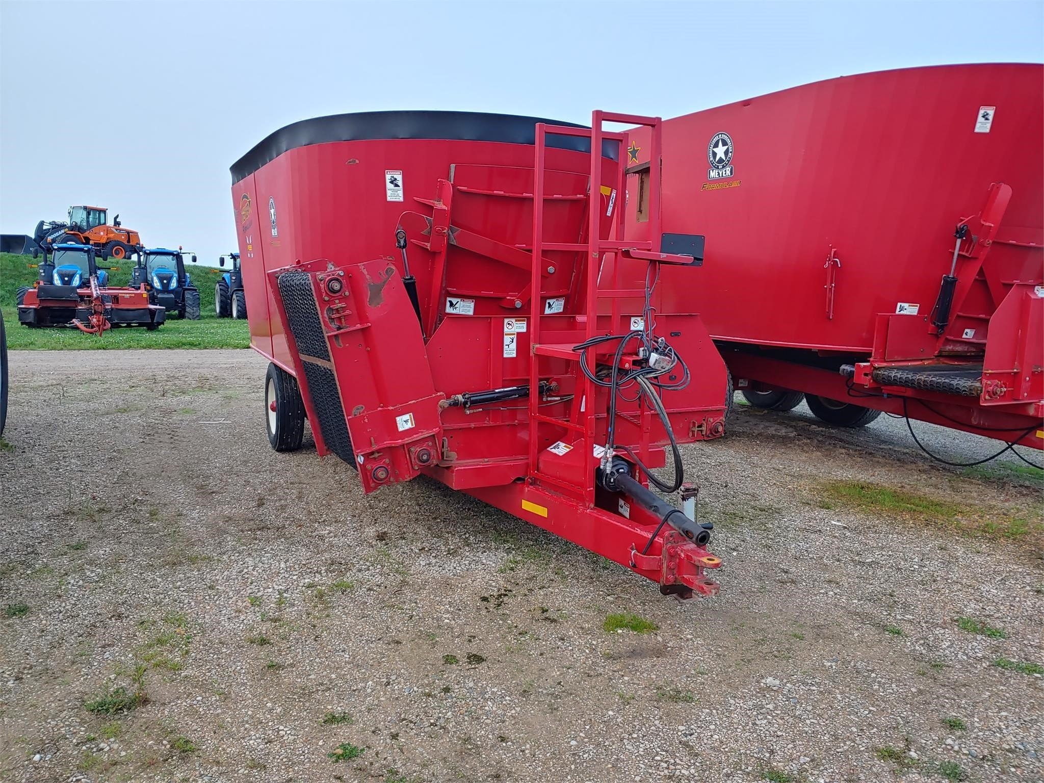 2017 Meyer F585 Grinders and Mixer