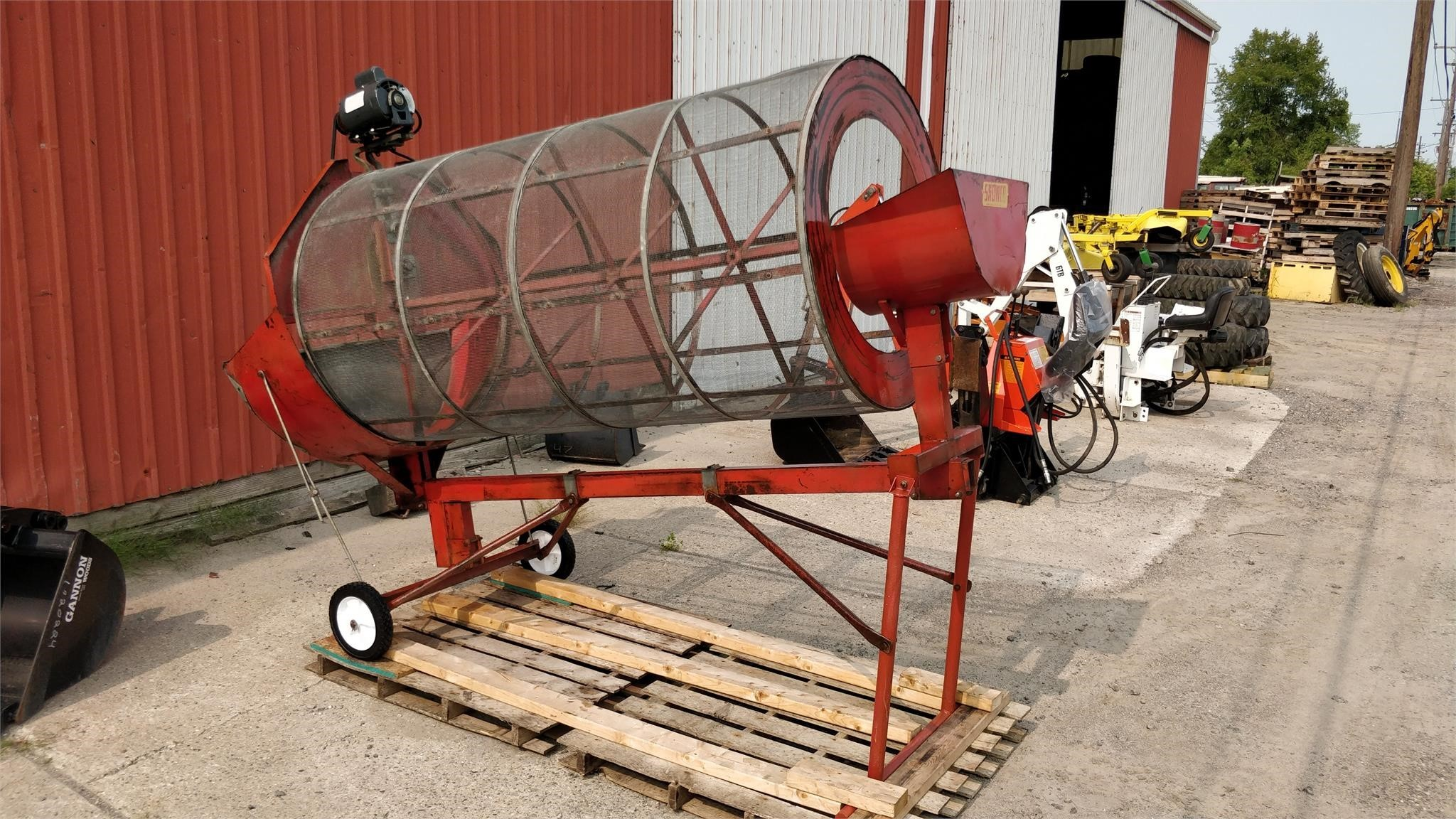 Snowco Grain Cleaner Grain Cleaner