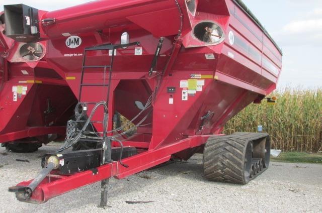 2014 J&M 1325-22T Grain Cart