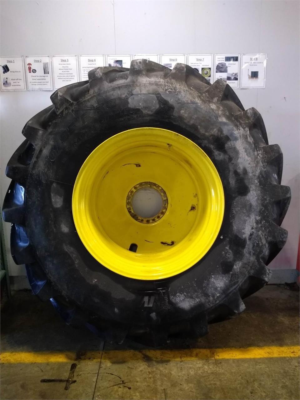 Michelin 650/85R38 Wheels / Tires / Track