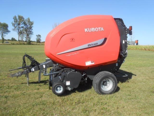 2018 Kubota BV5160R Round Baler