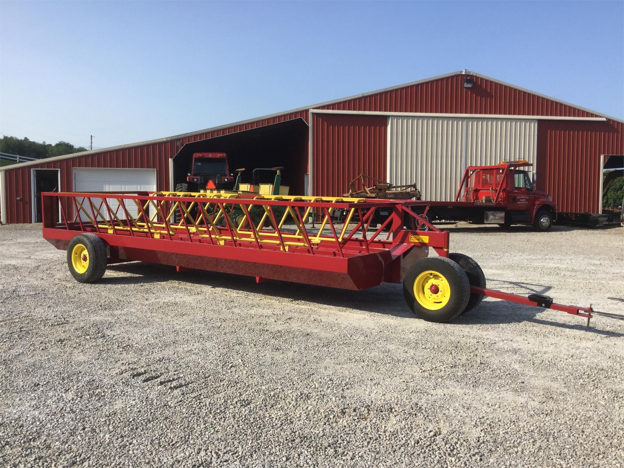2021 Farmco CF720DRB Feed Wagon