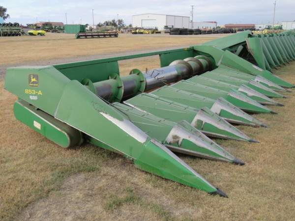 1998 John Deere 853a Corn Head Garden City Ks Machinery Pete