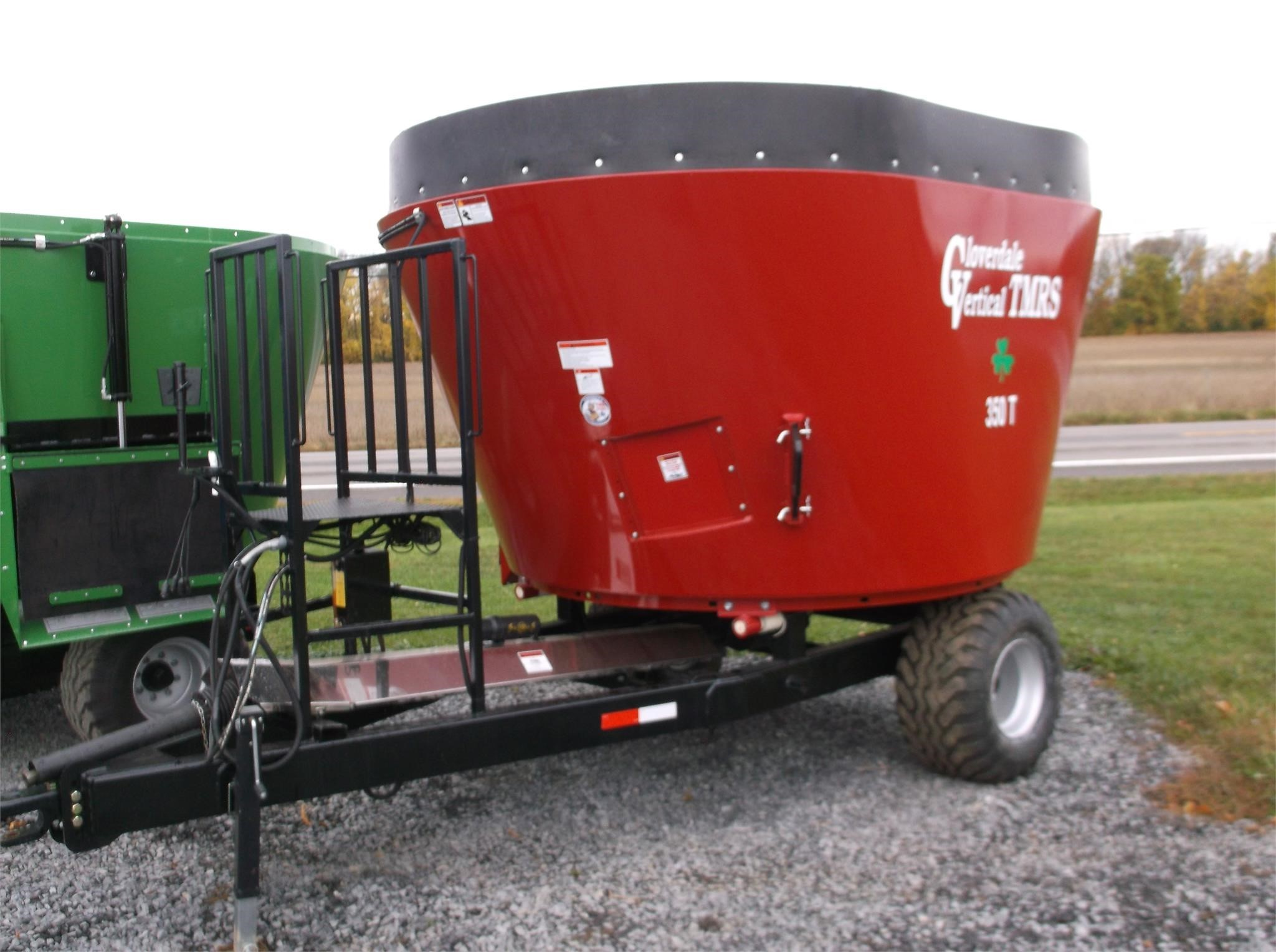 2021 Cloverdale 350T Grinders and Mixer