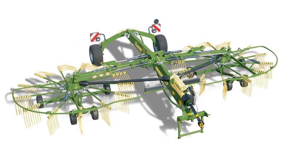 2021 Krone SWADRO TC760 Rake