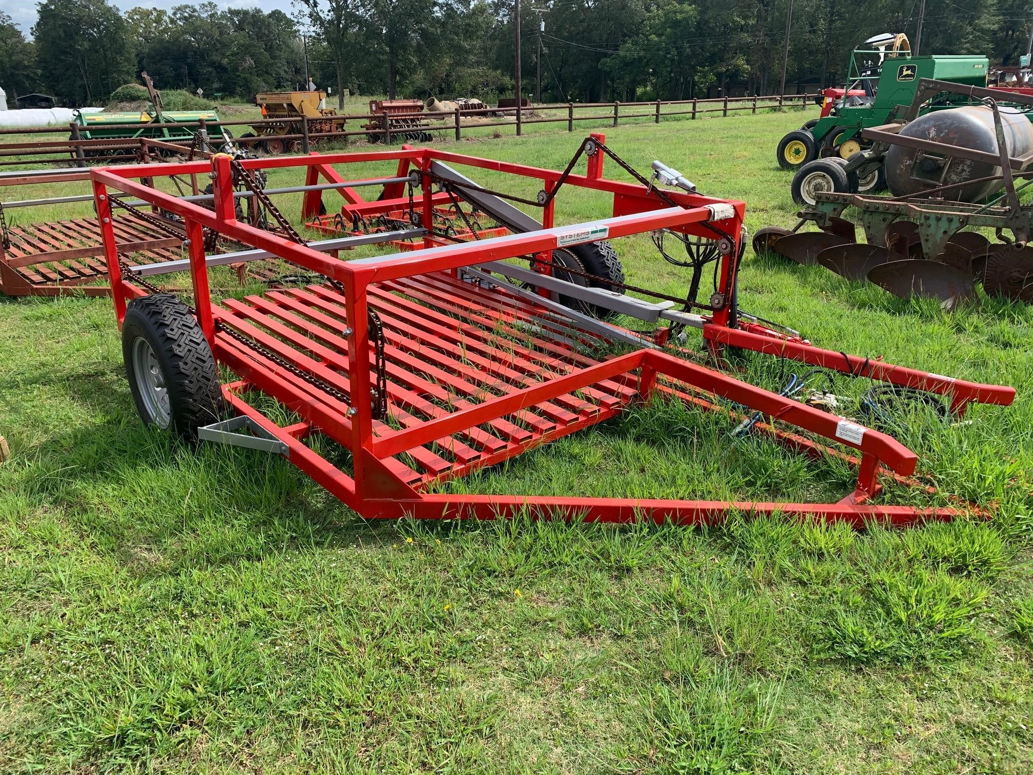 2019 Steffen Systems 950 Bale Wagons and Trailer