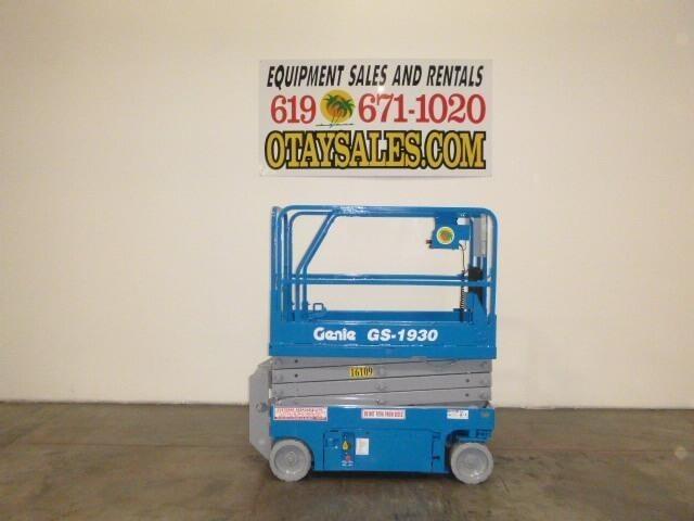 2011 Genie GS1930 Scissor Lift