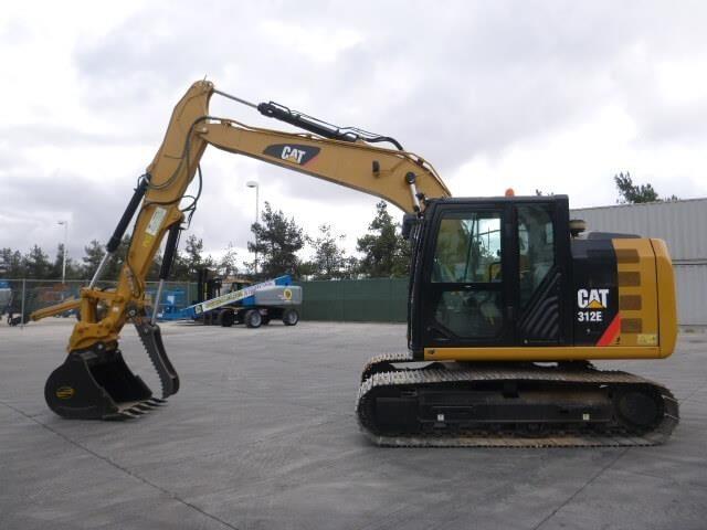 2014 Caterpillar 312E Excavators and Mini Excavator