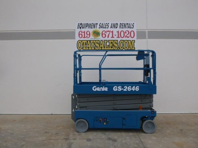 2013 Genie GS2646 Scissor Lift