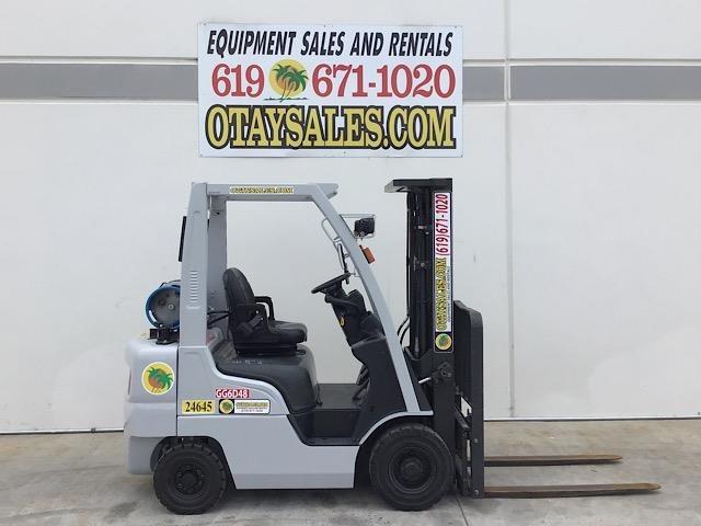 2015 Nissan MP1F1A20LV Forklift