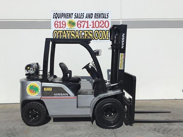 2012 Nissan MAP1F1A18LV Forklift