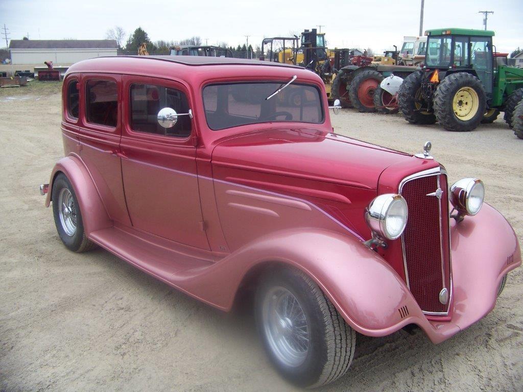 1934 Chevrolet 4 DOOR SUICIDE DOORS Car