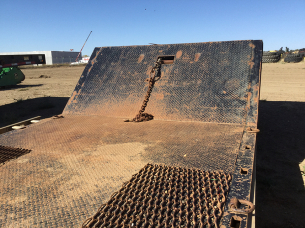 2004 Other Muv-all Trailer Flatbed Trailer