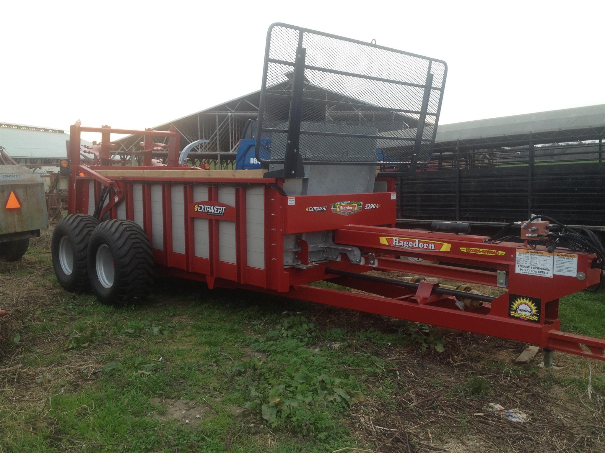 2020 Hagedorn Hydra-Spread Extravert 5290 Manure Spreader