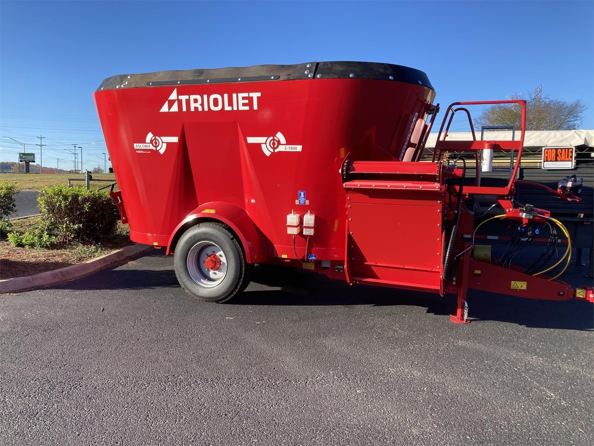 2021 Trioliet SOLOMIX 2-1800VL Feed Wagon