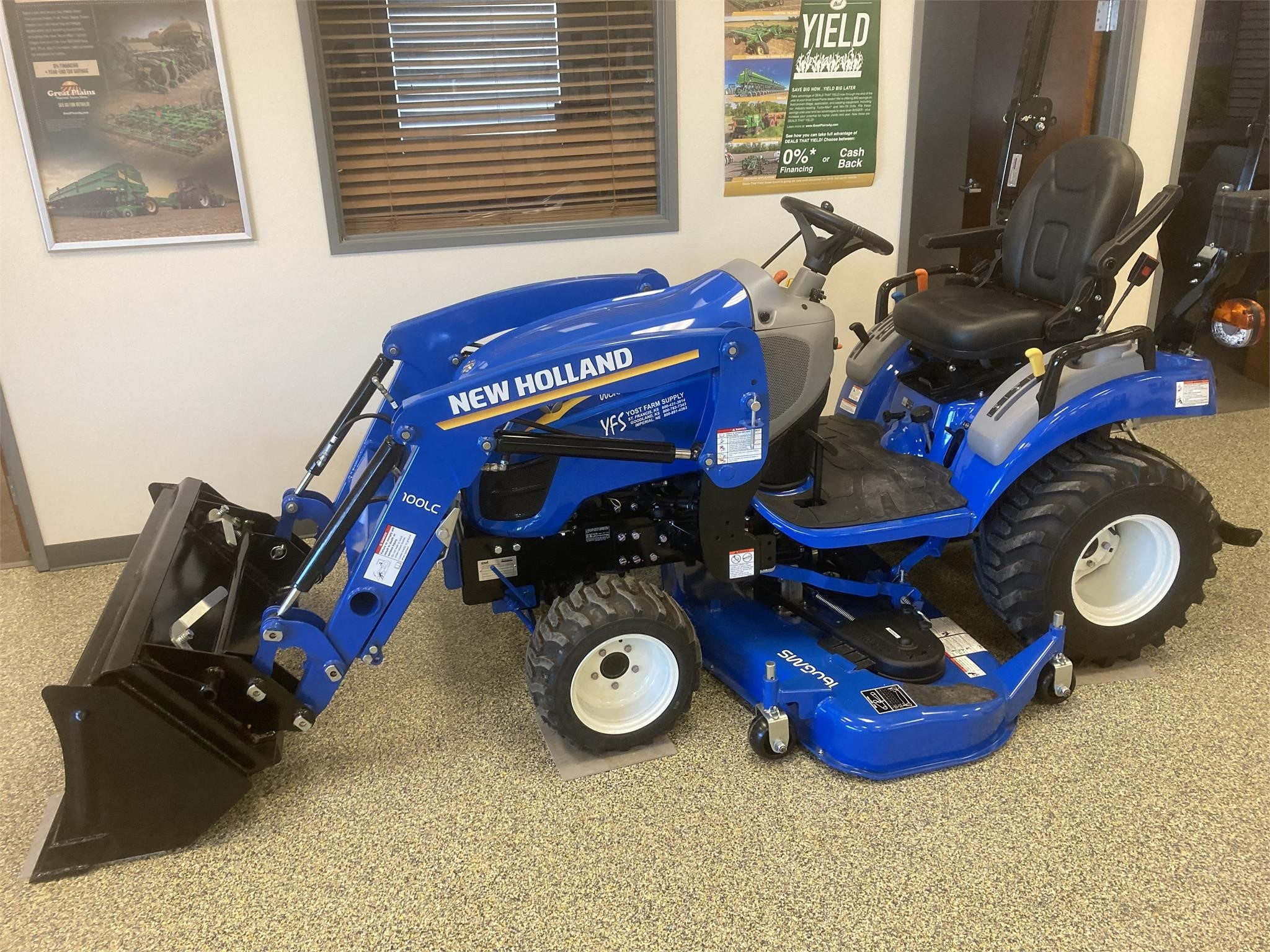 2021 New Holland WORKMASTER 25S Tractor