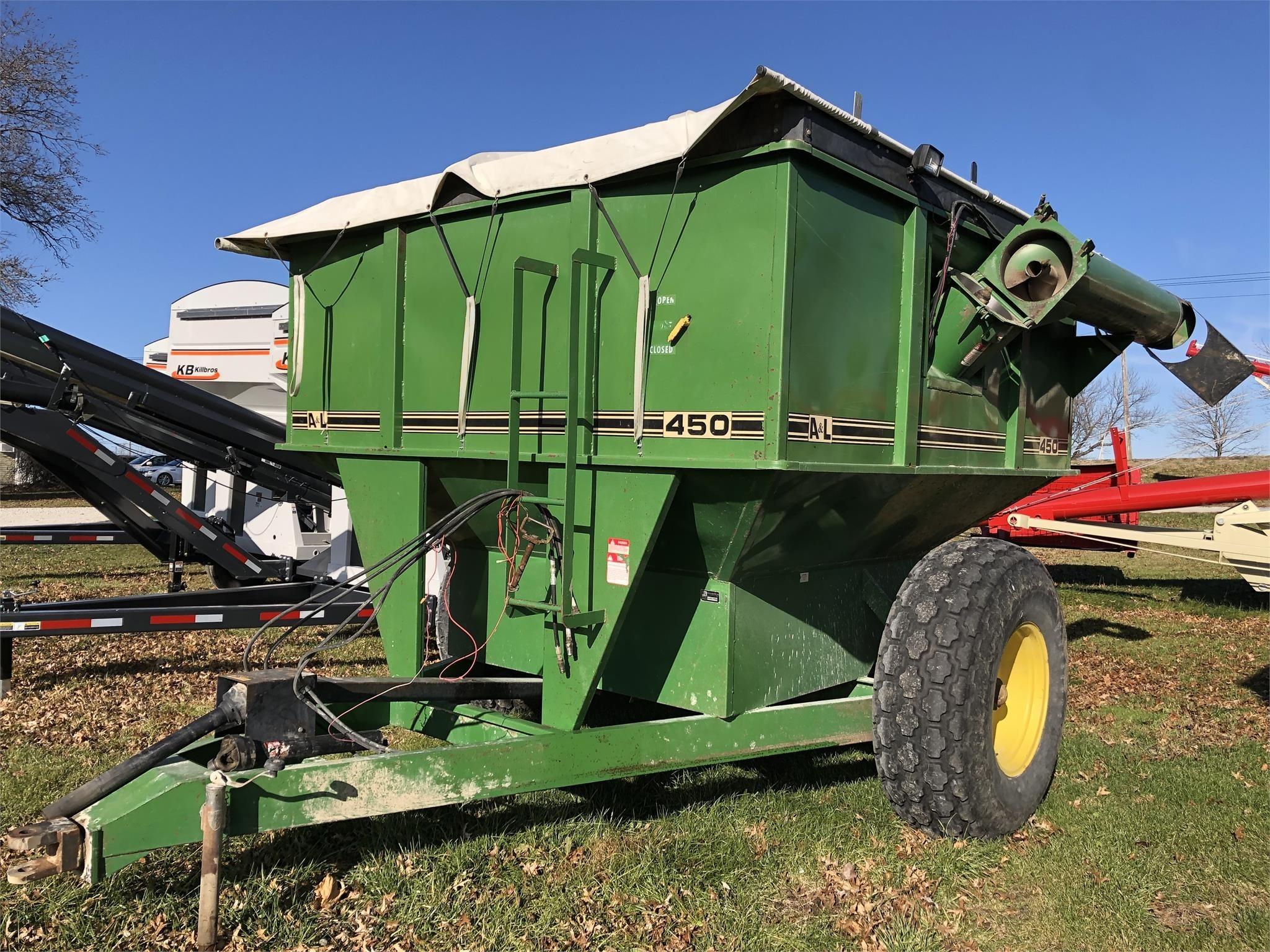 A&L 450 Grain Cart