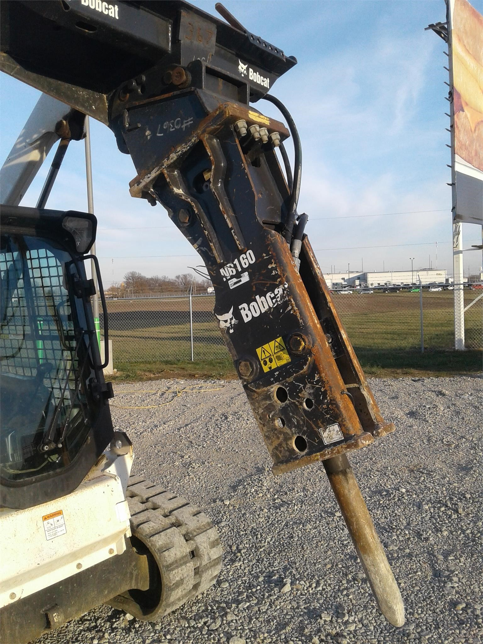 2018 Bobcat NB160 Loader and Skid Steer Attachment
