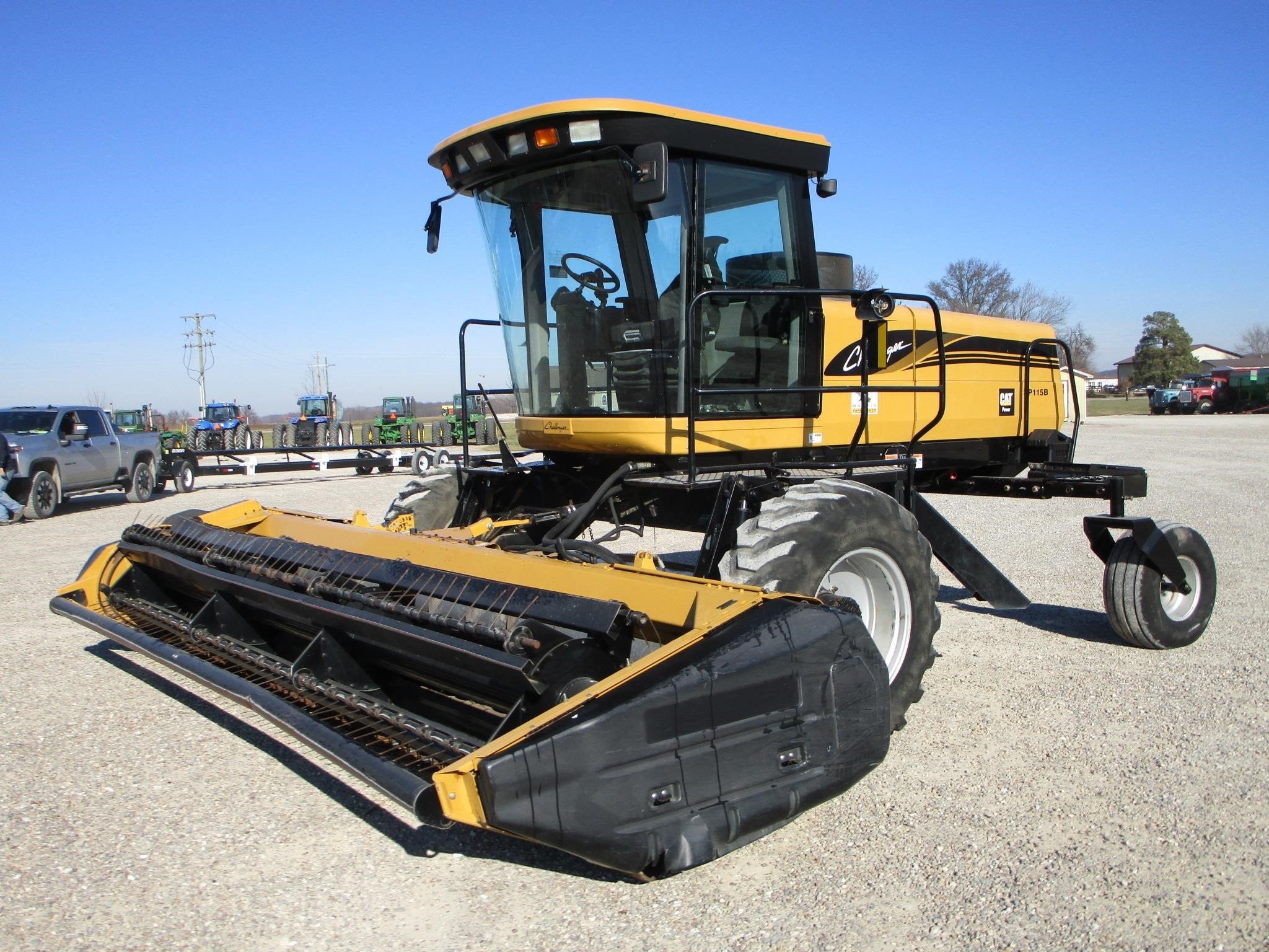 2005 Challenger SP115B Self-Propelled Windrowers and Swather