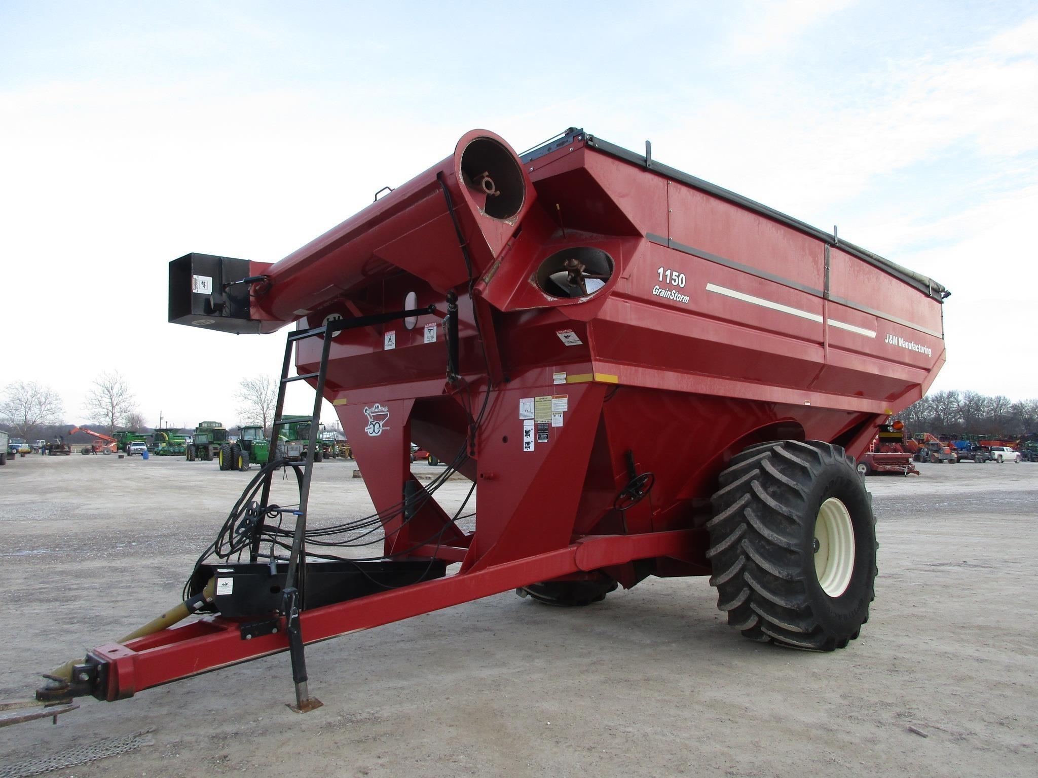 2010 J&M 1150-20S Grain Cart
