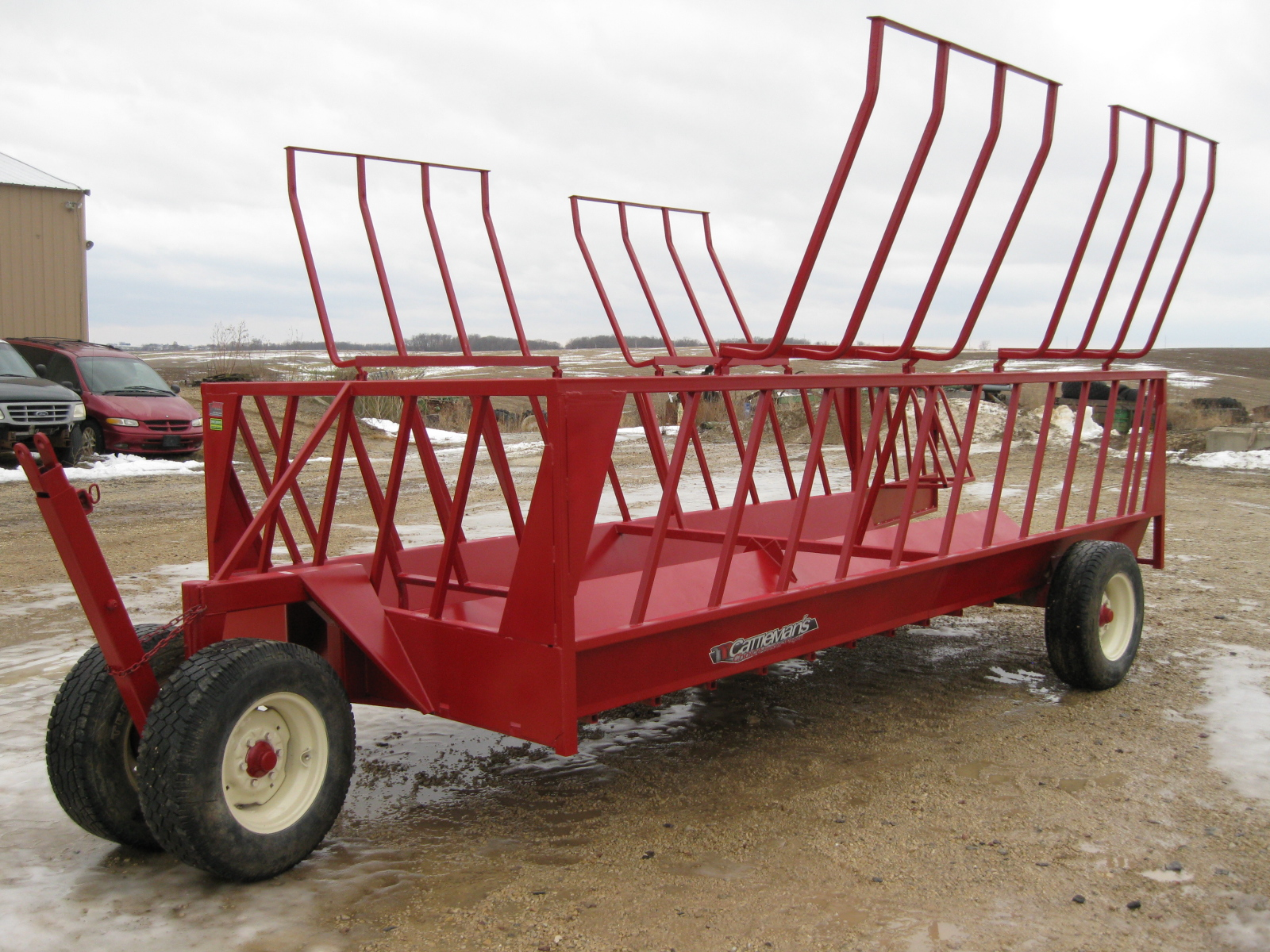 2019 John B.M. Mfg Double Bar Feeder 16 Cattle Equipment