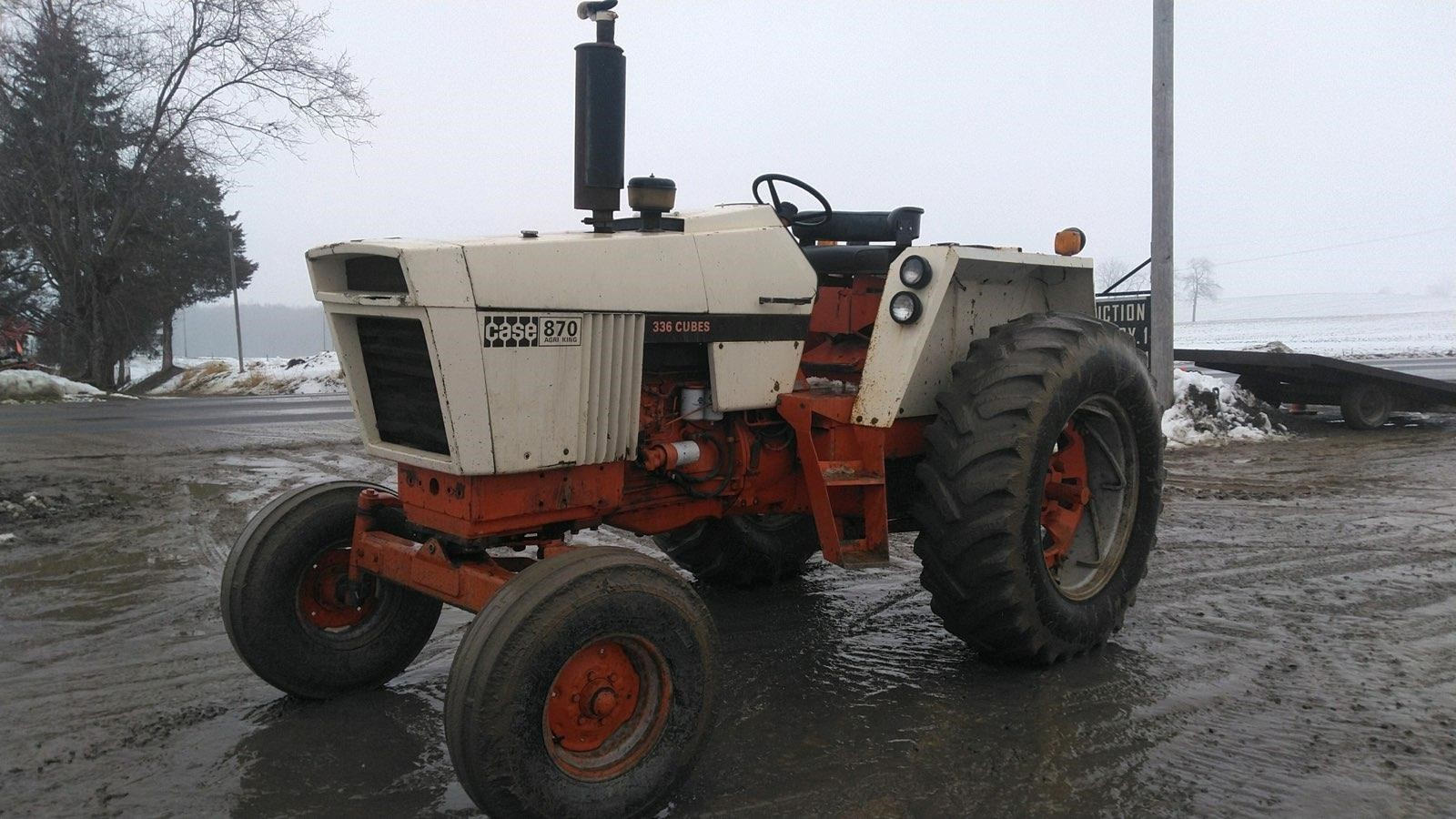 J.I. Case 870 Tractor
