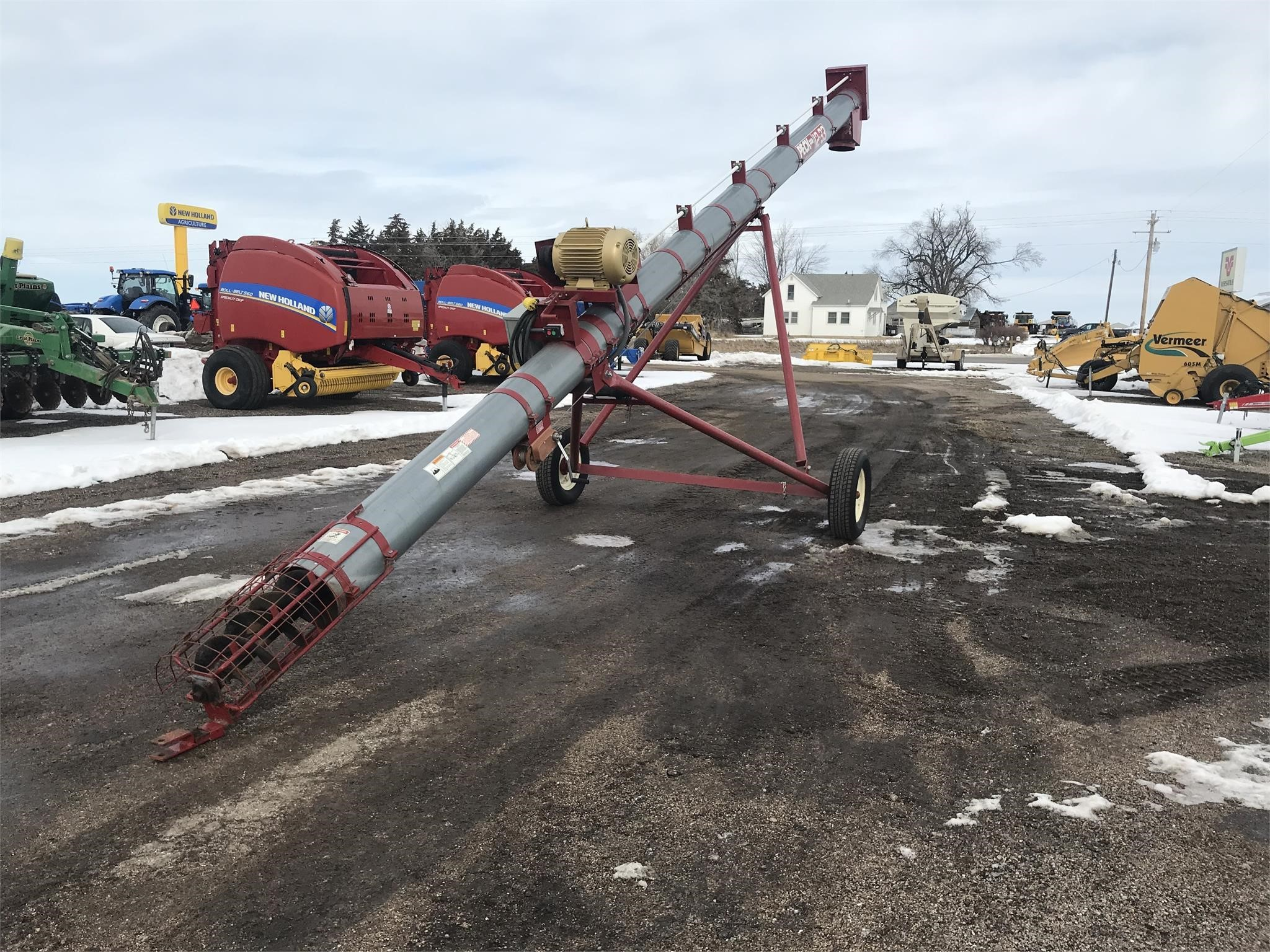 Peck TA12x33 Augers and Conveyor