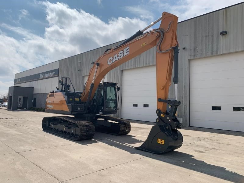 2020 Case CX210D Excavators and Mini Excavator