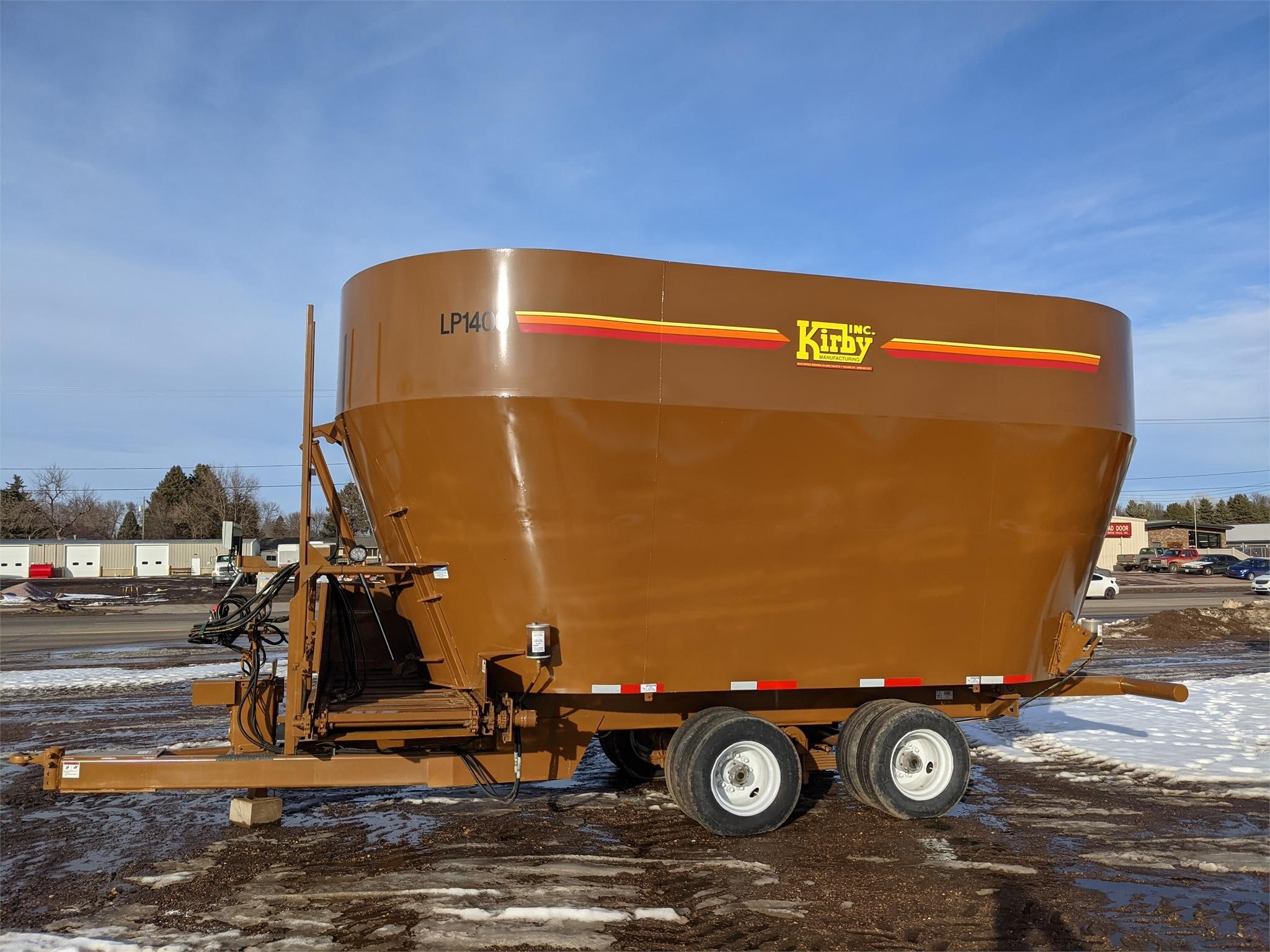 2020 Kirby Manufacturing LP1400 Grinders and Mixer