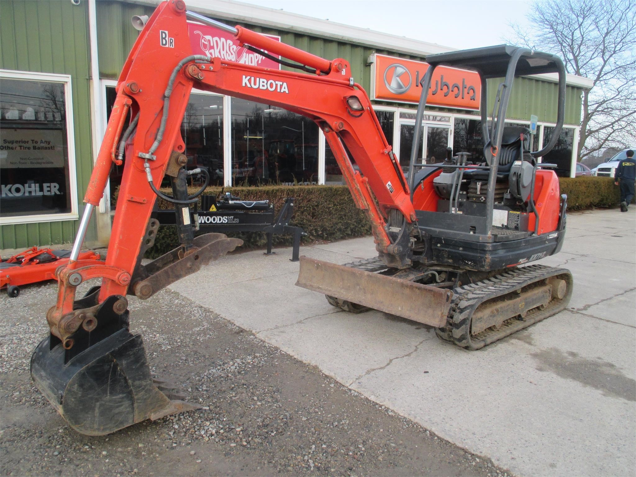 2017 Kubota KX71-3 Excavators and Mini Excavator