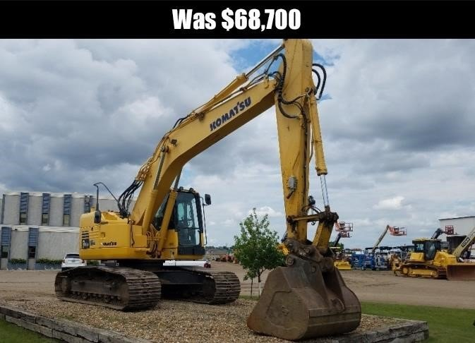 2013 Komatsu PC228 Excavators and Mini Excavator